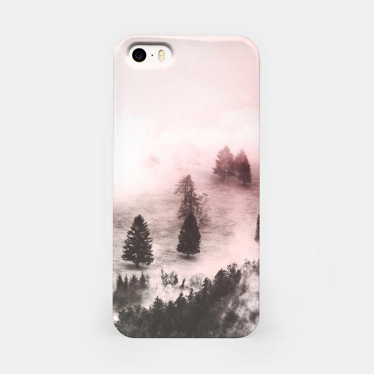 Pink mountainous landscape Carcasa por Iphone, Live Heroes