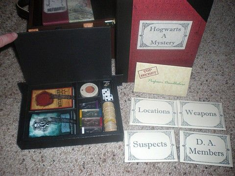 !!WANT!! Harry Potter Clue game