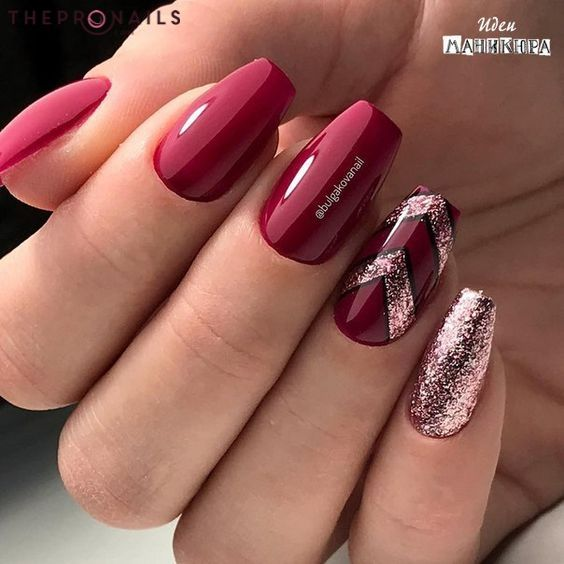 When in doubt wear red. Bill Blass #quotes #inspiration #red #color #nails