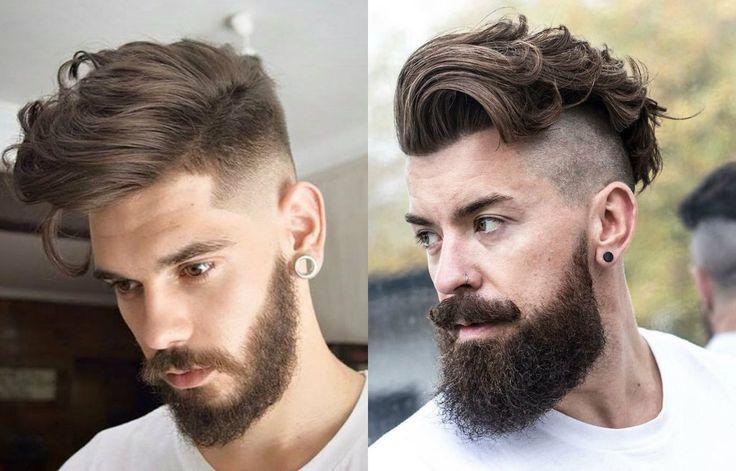 Fresh & Stylish Mens Undercut Beards 2017   wavy