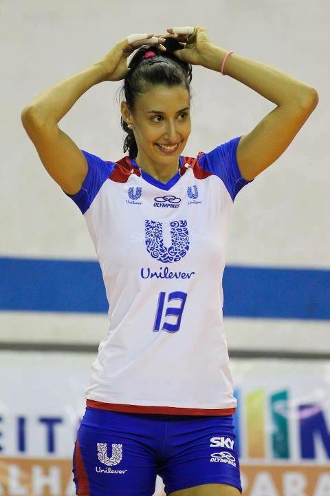 Sheilla Tavares de Castro Blassioli, olimpic brazilian volleyball player