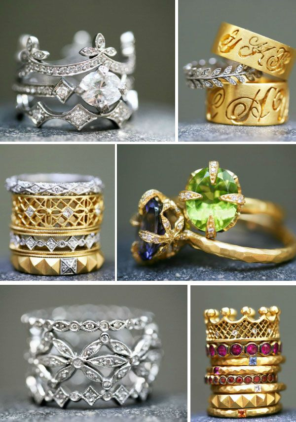 Wedding / Engagement Rings by Cathy Waterman Collection: Love of my Life #Luxury #Wedding #Jewelry