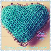 Tunisian crochet, Crochet hearts and Crochet on Pinterest