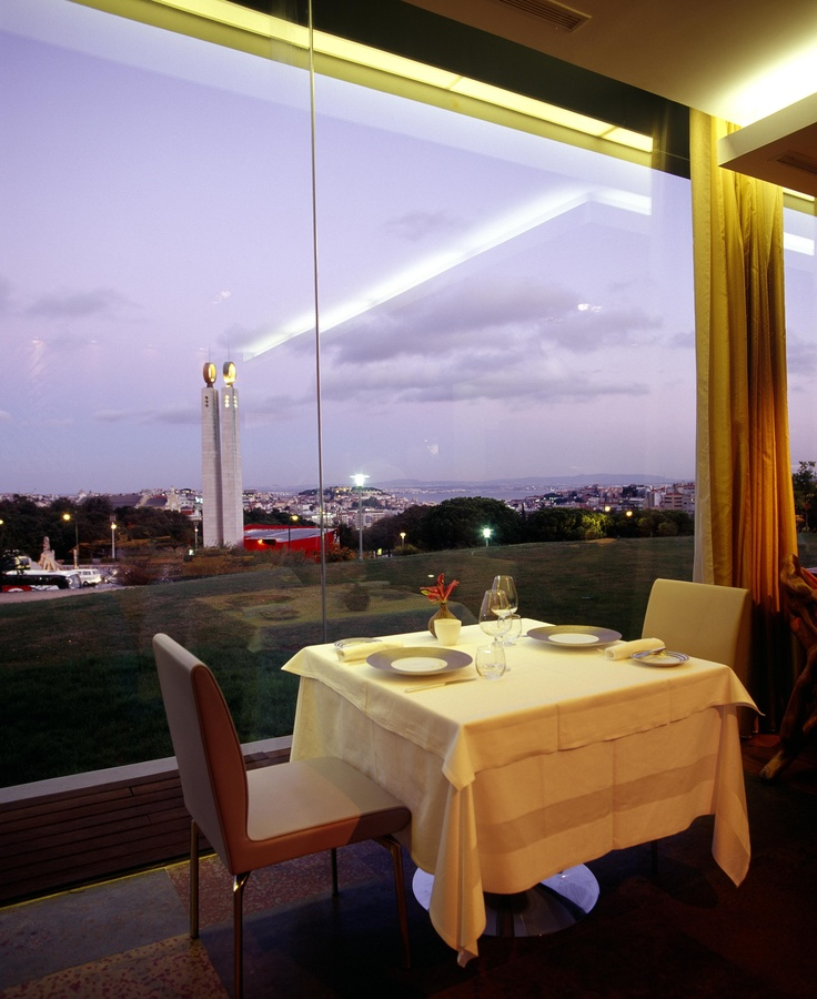 A restaurant with a view - Eleven Restaurant by Thema Hotels, Lisbon, Portugal