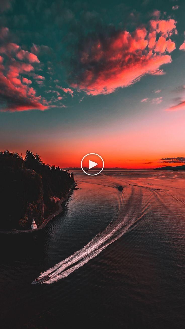 Nature Yacht Sea Sunset Wallpapers Hd 4k Hintergrund Fur Android Tumblrwallpapers Wallpapers Lockscreen Background 4k Background Sunset Wallpaper