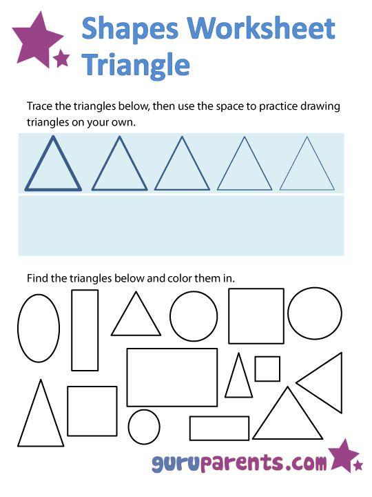 166 best pre k shape worksheets crafts images on pinterest preschool forms preschool shapes. Black Bedroom Furniture Sets. Home Design Ideas