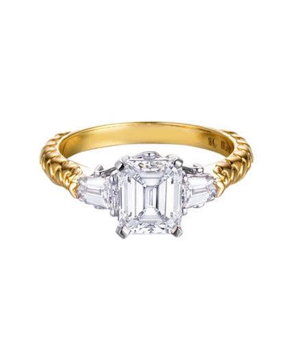 Madyha Farooqui The New Yorker Engagement Ring | From asscher to round, take a peek at the elegant options for engagement rings.