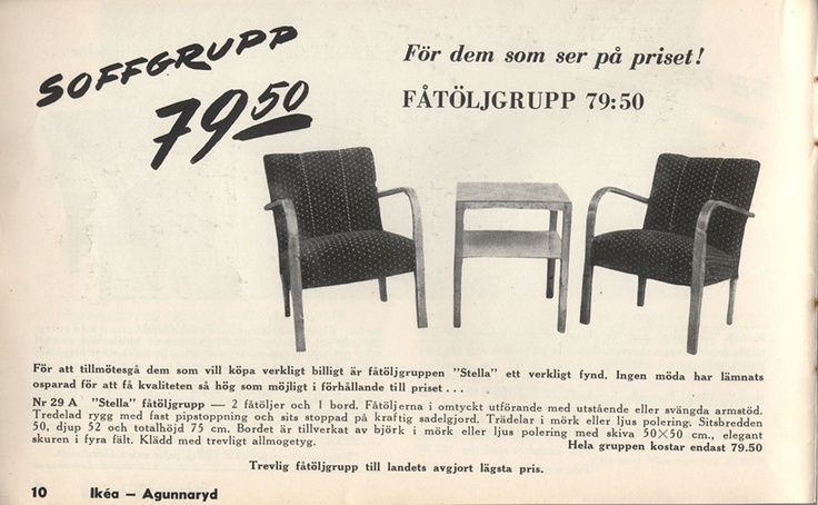 For Those Looking At The Price Armchair Group For 79 50sek