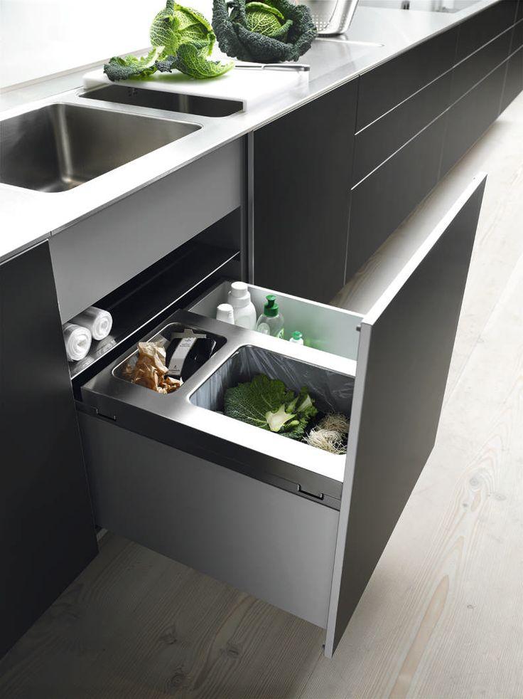 poubelle cuisine inox ikea. Black Bedroom Furniture Sets. Home Design Ideas