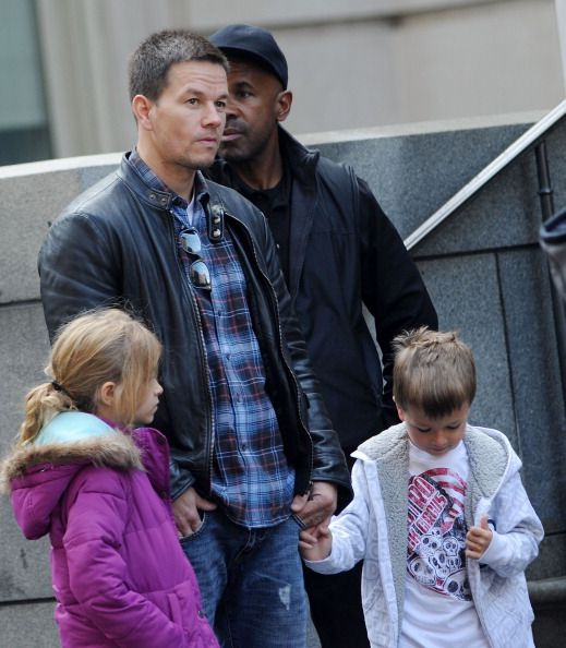 Affordable Mark Wahlberg Broken City (Billy Taggart) Leather Jacket