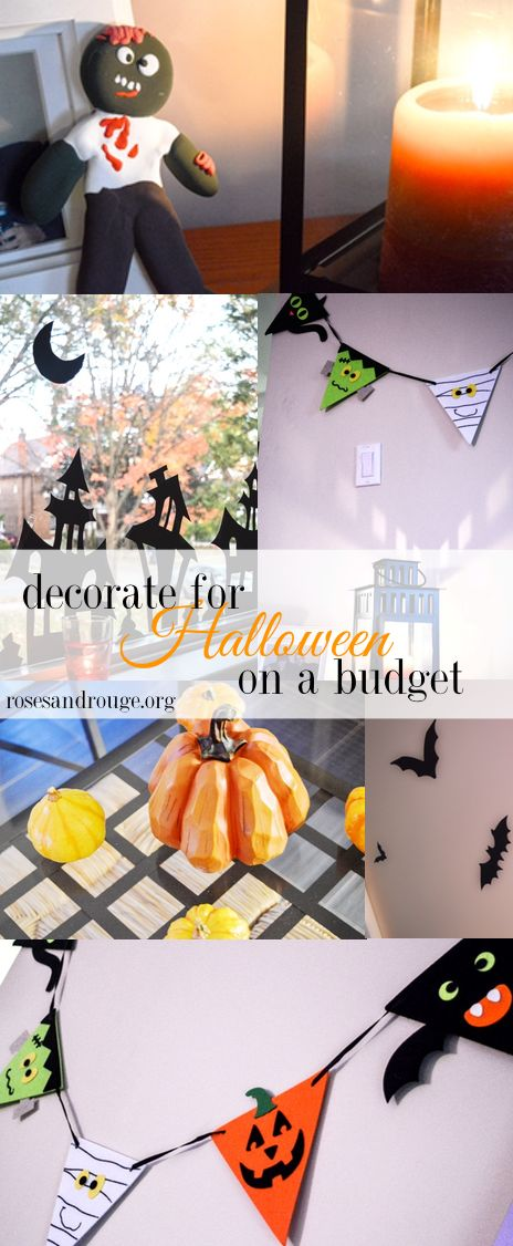 Decorate your home for Halloween for under $25!