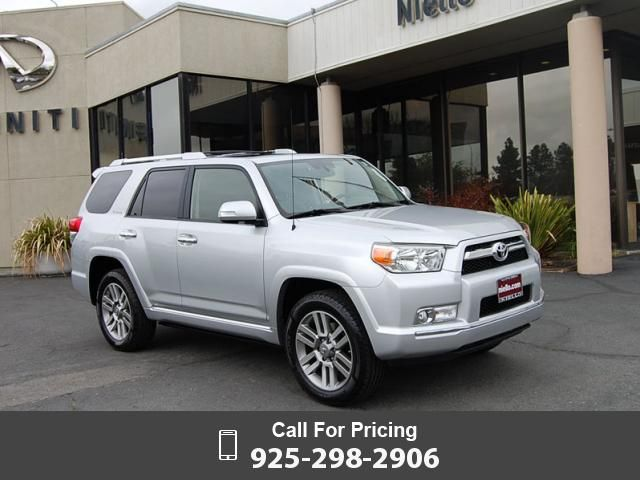 2012 Toyota 4Runner Limited 4x4  39k miles $35,000 39675 miles 925-298-2906 Transmission: Automatic  #Toyota #4Runner Limited 4x4 #used #cars #NielloInfiniti #Concord #CA #tapcars