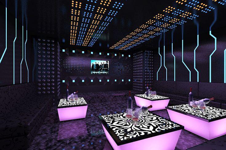 karaoke vip entertainment phong nightclub lounge mẫu phong mau thiết bar vn