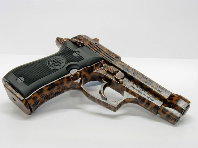 Beretta Cheetah by Shoot Smart Fort Worth, TX ... pretty lil thing ... :D