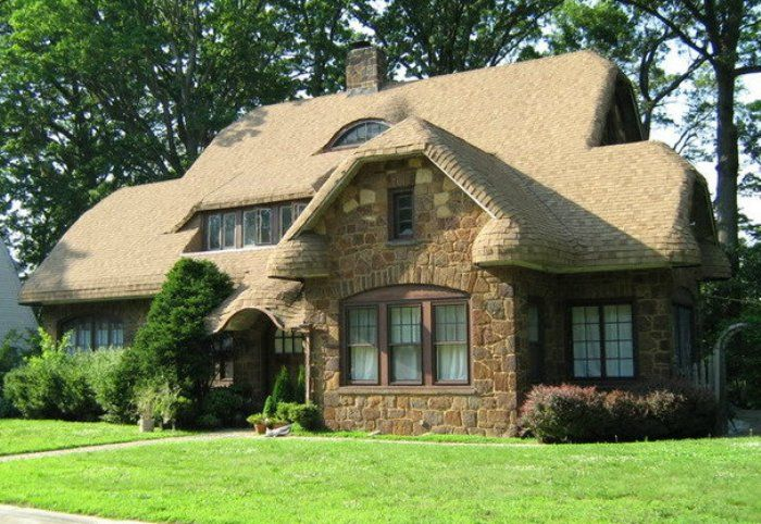 Best Steam Bent Shingles Give A Thatched Roof Appearance Curb 400 x 300