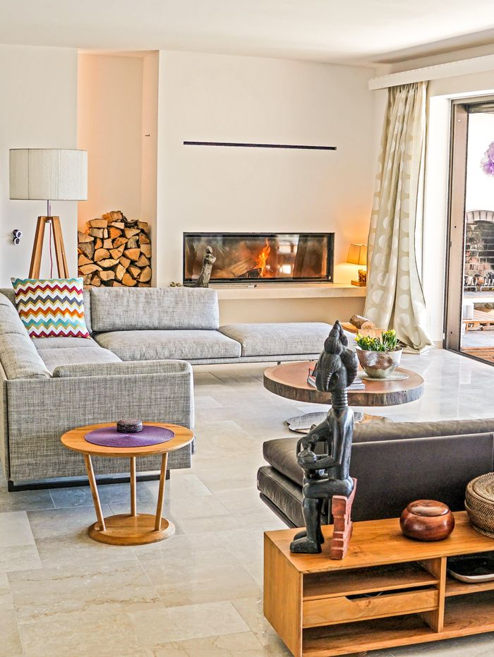 48 best FIREPLACE WITH SPECIAL DESIGN images on Pinterest Fire - interior trend modern gestein