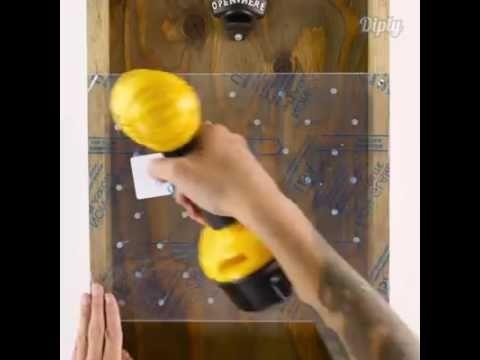 Beer Bottle Plinko - DIY Drinko Plinko - YouTube