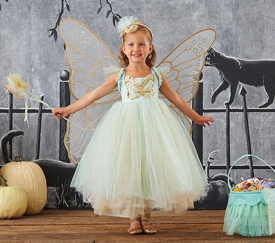 Butterfly Fairy Costume - Mint $99 | Pottery Barn Kids Halloween 2016