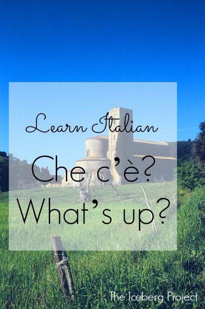 Learn Italian: Che c'è? - What's up?