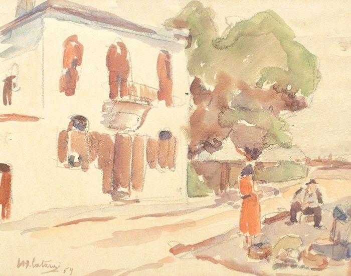 Henri H. Catargi, Vânzători la colţ de stradă