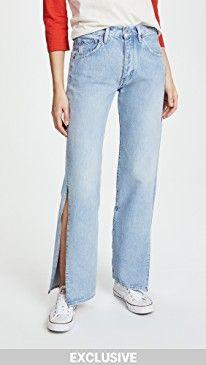 New Levi's LMC x SHOPBOP Split Arrow Wide Leg Jeans online. Perfect on the Susana Monaco Clothing from top store. Sku nuet84224ntwf53749