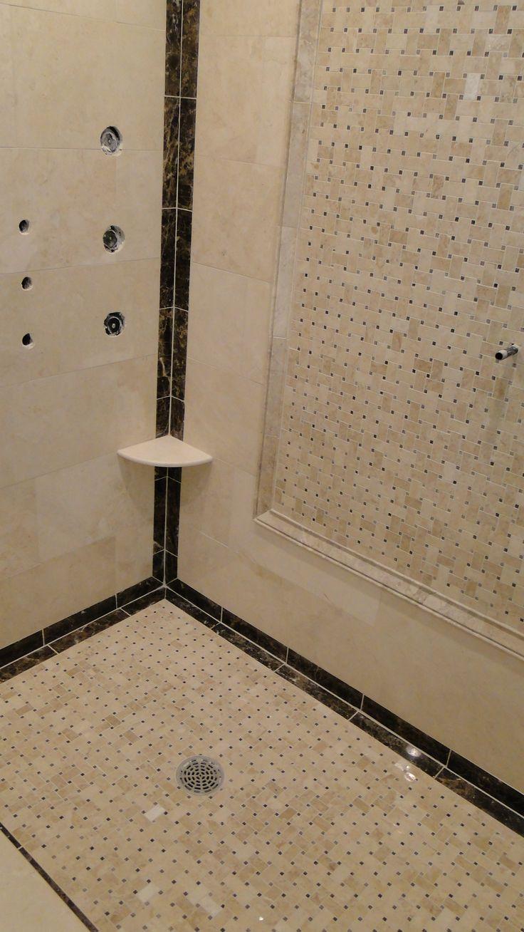 Brown marble bathroom miles redd - Cappuccino And Dark Emperador