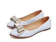 Elegante Flache Schuhe Leder Frauen Hochzeit Büro Schuhe Wohnungen Frauen Müßiggänger Mokassins Komfortables Fahren Schuhe Größe 34-42 //Price: $US $18.41 & FREE Shipping //     #dazzup