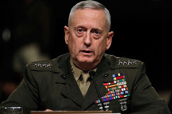 Trump confirma James Mattis como secretário de Defesa