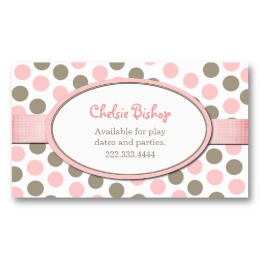 poka dot cards