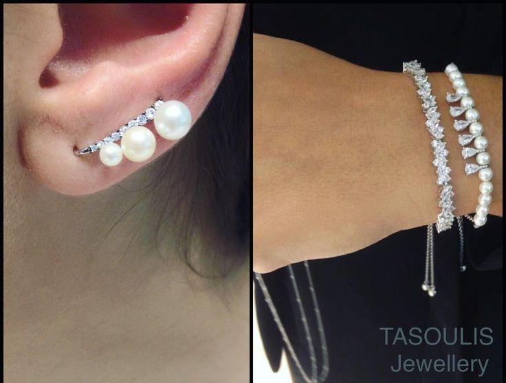 #Pearls❤️Silver Jewellery!😍 TASOULIS Jewellery💎