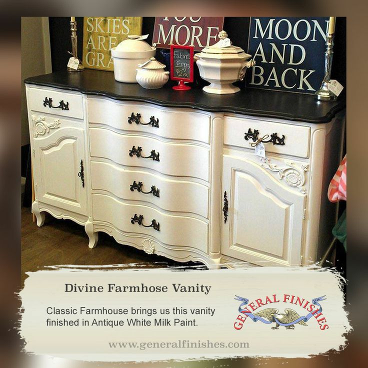 Full image for general finishes antique white milk paint for Antiquing kitchen cabinets with chalk paint