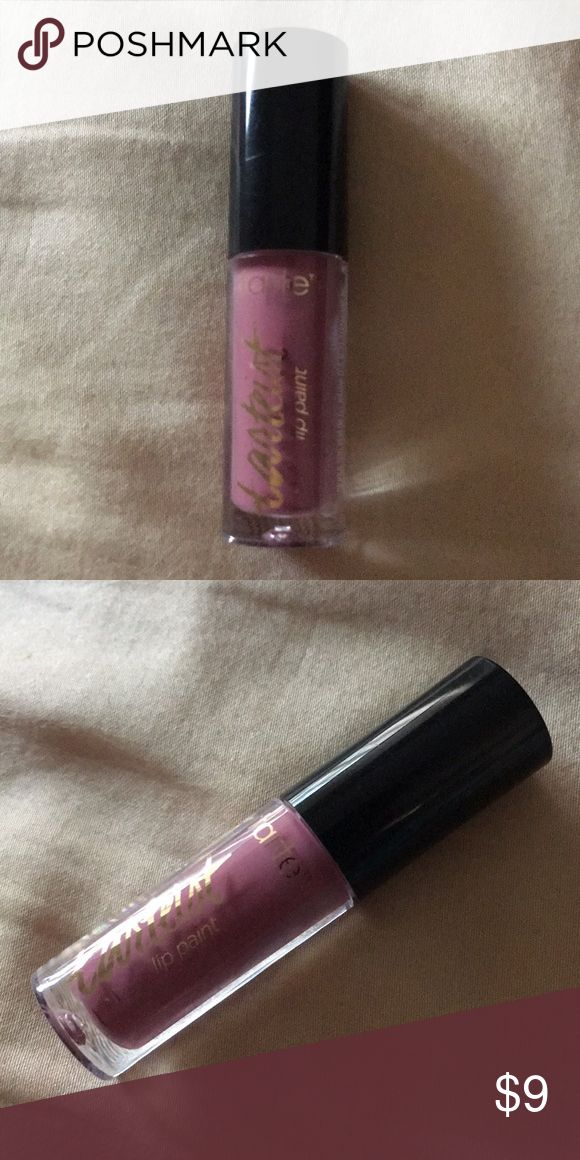 Tarteist Creamy Matte Lip Paint - Color: FOMO **PRICE IS FIRM, UNLESS BUNDLED**  An ultra-pigmented, lightweight, moussey liquid lipstick in an array of long-wearing, stylish, everyday shades.   Paint on pigment to create a lip masterpiece with chic, creamy matte liquid lipstick. Designed for styles ranging from modern minimalist to bold & dramatic, this high-definition, saturated formula starts as a traditional lipstick that's been liquefied & concentrated, resulting in a luxurious, velvety…