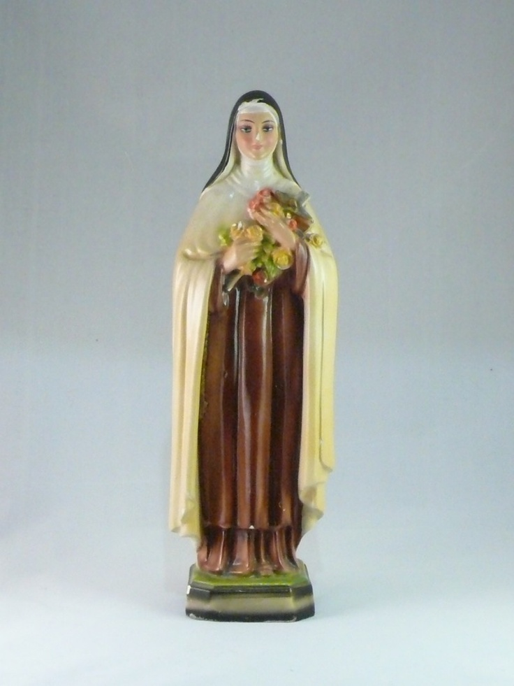 SOLD! Vintage 12 inch chalkware statue of the Little