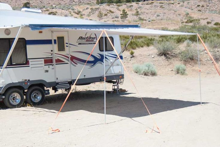 Awning Extend'r can nearly double RV canopy coverage | www.trailerlife.com