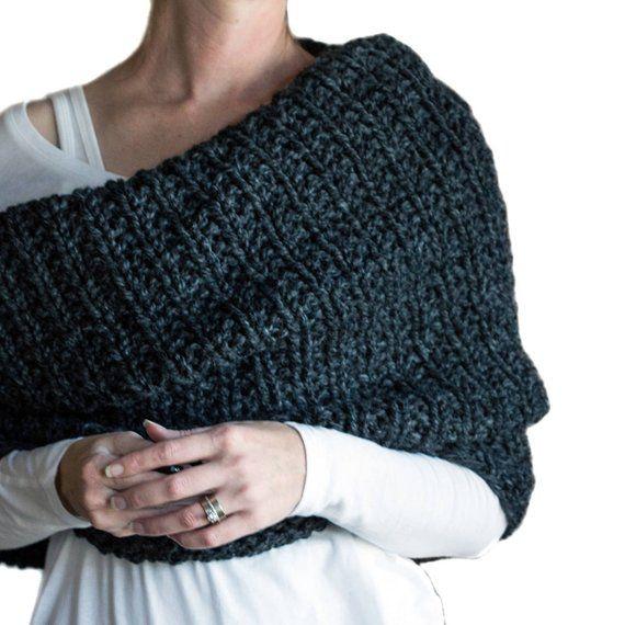 Cowl Knitting Pattern das mulheres - LIDERANÇA - um conjunto de instruções para tricotar o capuz