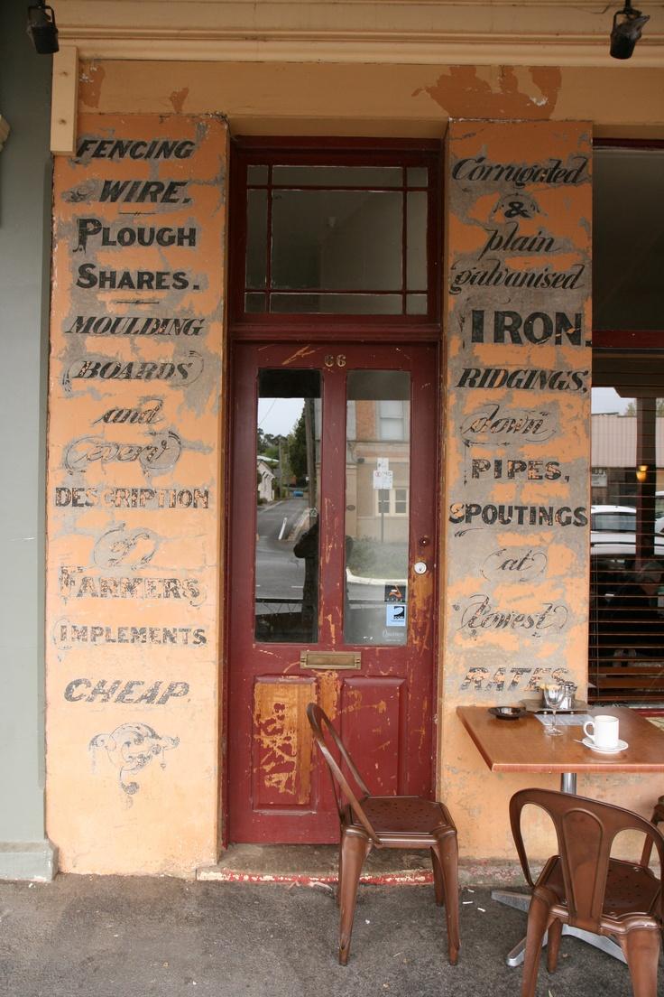 Saff's Cafe, Castlemaine, VIC