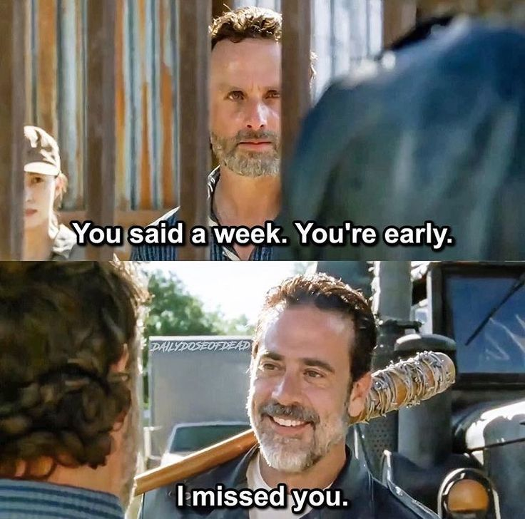 The Walking Dead Season 7 Episode 4 'Service' Negan and Rick Grimes