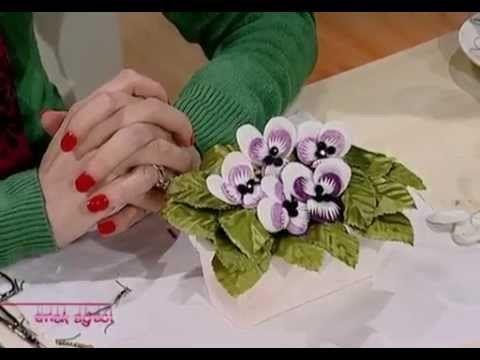 İPEK KOZASI İLE SAAT ÇİÇEĞİ YAPIMI - İPEK KOZASI ÖRTÜ ÇALIŞMASI. SILK COCOON PASSION FLOWER - YouTube