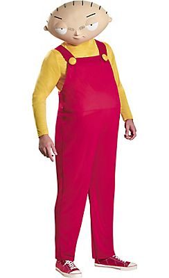 Adult Stewie Costume Deluxe - Family Guy