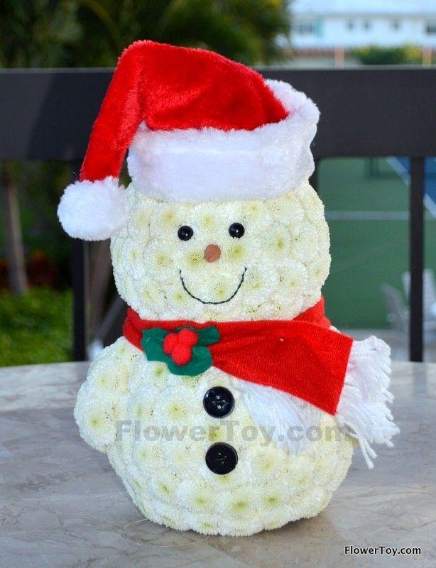FlowerToy Snowman Santa