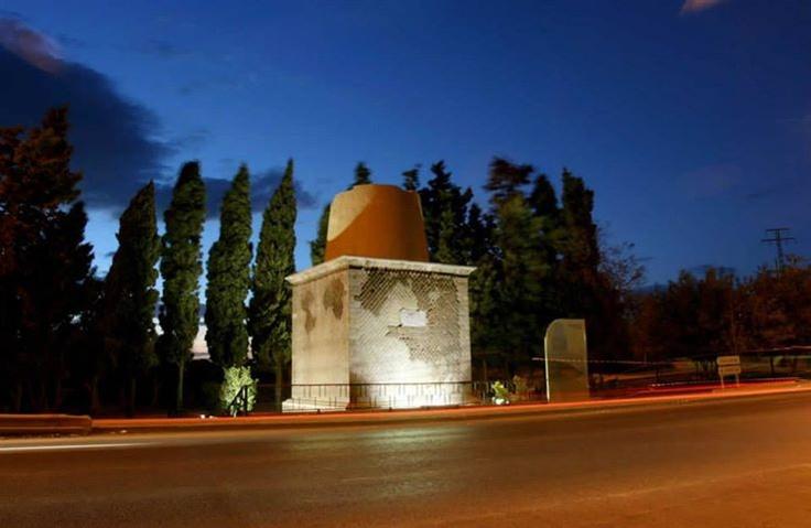 *Torreciega*, restos de un monumento funerario romano. CARTAGENA. Spain