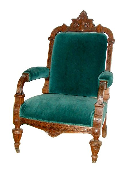 Antique velvet Herter Brothers armchair with ornately carved wood. 129 best Herter Brothers Furniture images on Pinterest   Brothers