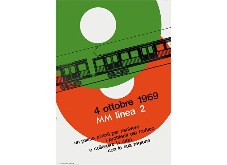 Opening of line 2, second promotional poster