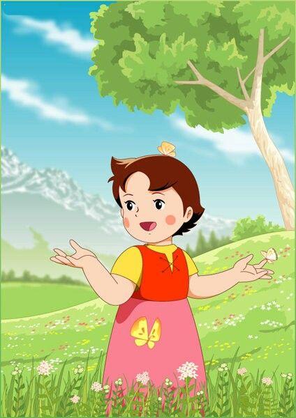 Heidi - Heidi...Deine Welt sind die Berge...