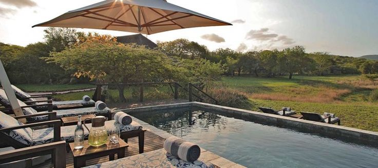 Phinda Zuka Lodge This exclusive and intimate safari hideaway features personal game drives and rangers, a butler service, private swimming pools and an interactive kitchen. a flexible timetable for safari activities allows guests to explore the reserve at leisure.