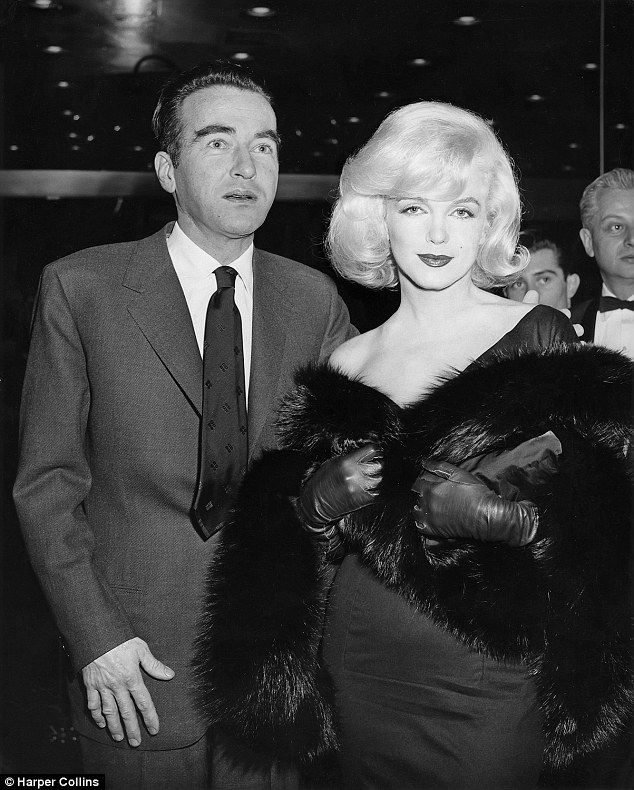 Montgomery Clift and Marilyn Monroe attend the premiere of The Misfits on January 31, 1961...