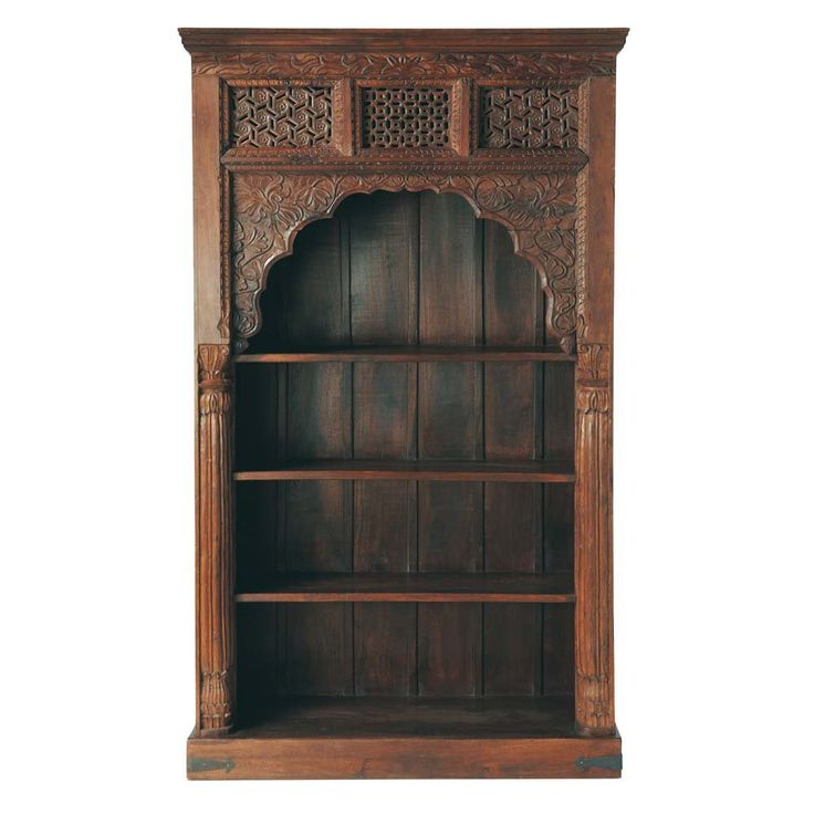 biblioth que indienne rajasthan stuff deco pinterest indiens deco orientale et salons. Black Bedroom Furniture Sets. Home Design Ideas