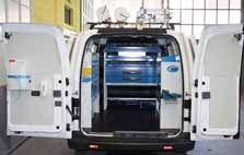 Attrezzature per furgoni su Nissan NV200 da Syncro in Toscan