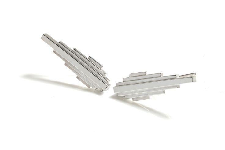 Antumbra Earrings Silver