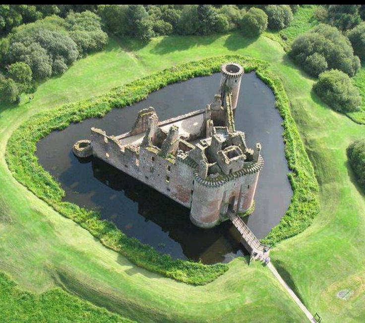 Real castle.  scotland